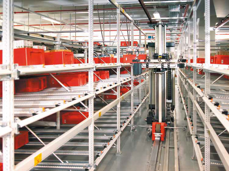 Automated live storage systems